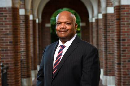 Vice President of Public Safety Branville Bard, Jr.